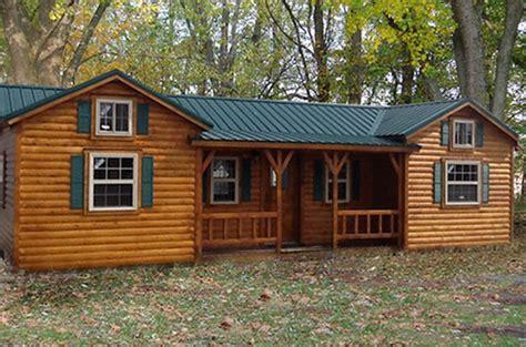 amish log cabin kit