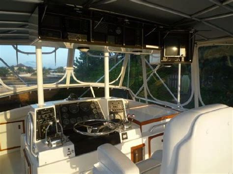 Boat Half Tower For Sale by 1987 Bertram Convertible W Half Tower Boats Yachts For Sale