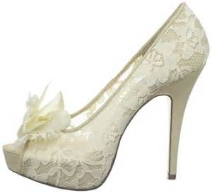 wedding shoes ivory lace wedding shoes ivory for bridal weddings