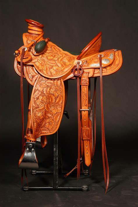 tooled saddles frecker saddle rigby david saddlery freckerssaddlery seat