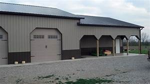 grabers oak flooring inc pole barns With 40 x 50 pole barn