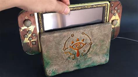 fan art une nintendo switch transformee en tablette