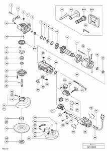 Hitachi G13sb3 125mm Disc Grinder Spare Parts