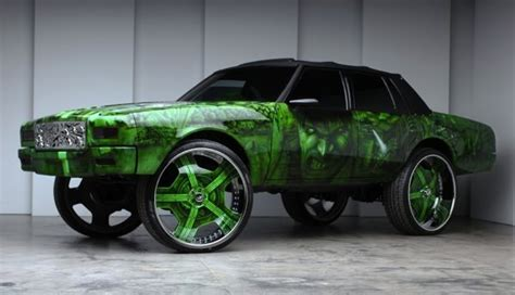 hulk  box chevy caprice donk    forgiato