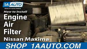 How To Replace Engine Air Filter 1981