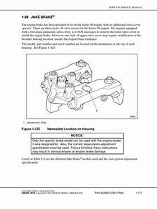 Engine Brake Adjustement