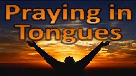 (12) Prayer Language, Praying In Tongues, How Satan Stops