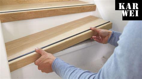 open trap bekleden met hout karwei traprenovatie hout op trap aanbrengen youtube