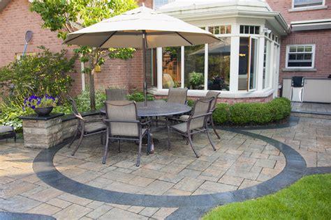 interlock patio ideas patio ideas flagstone interlocking brick richmond hill aurora