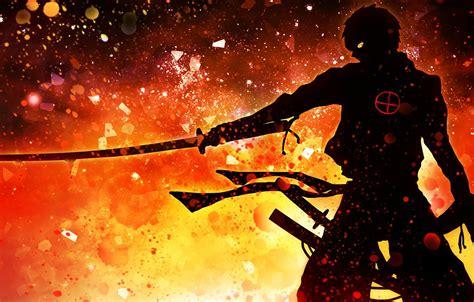 Wallpaper Demon Wallpaper Fire Battlefield Red Flame Sword Gun Blood Game Armor Devil