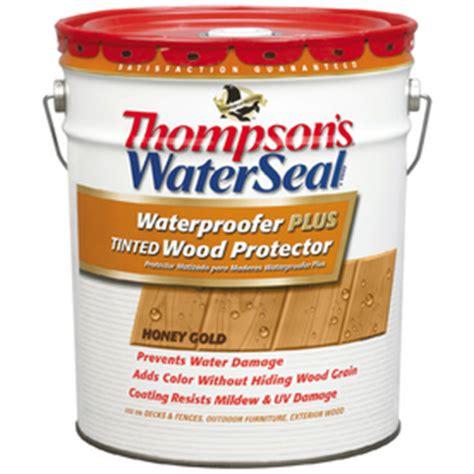 shop thompsons waterseal waterproofer  tinted wood