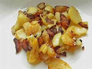 Bratkartoffeln Mit Zwiebeln Und Speck Rezept Mit Bild