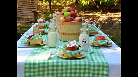 summer picnic decorations ideas youtube