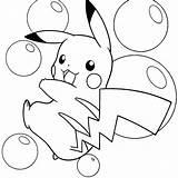 Pichu Coloring Pages Pokemon Pikachu Raichu Getcolorings Printable Getdrawings sketch template