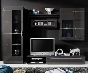 elegance black high gloss living room furniture american With high gloss furniture for living room