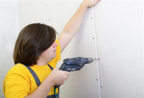 hanging drywall paneling how to install a dry wall at the home depot