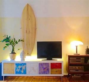 Surfboard Selber Bauen : wie du eine surfboard wandhalterung f r 8 57 eur baust ~ Orissabook.com Haus und Dekorationen