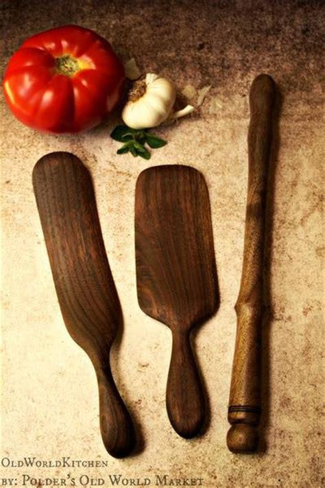 Scottish Spurtle Collection   Set of Three ? Old World Kitchen