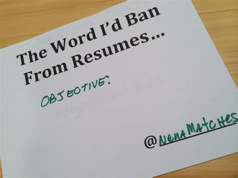 do you really need a resume objective artisan talent