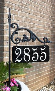Why, You, Should, Go, For, Lawn, Address, Signs, U2013, Homesfeed