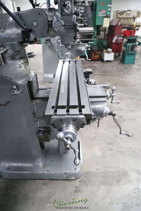 bridgeport vertical milling machine sterling machinery