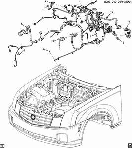 2006 Cadillac Cts Wiring Harness  Instrument Panel