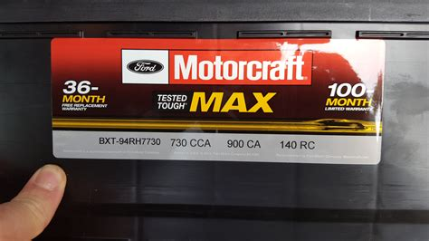 battery options page  ford  forum community