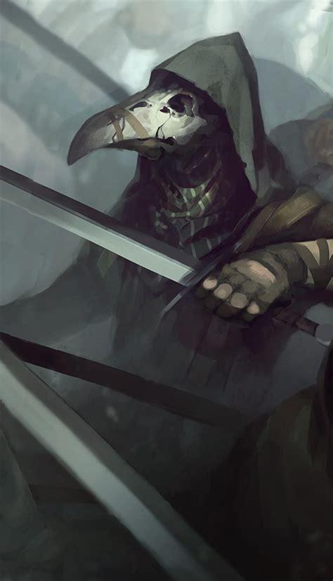plague doctor  quintuscassius plague doctor dark