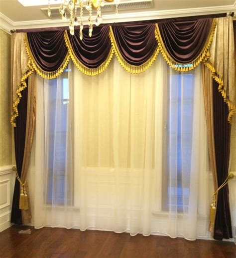buy set styles luxurious curtains