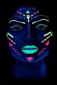 Maquillage Fluo Visage : pingl par kisign sur tatouage ph m re pinterest ~ Farleysfitness.com Idées de Décoration