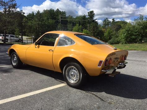 1972 Opel Gt by 1972 Opel Gt For Sale Classiccars Cc 898505