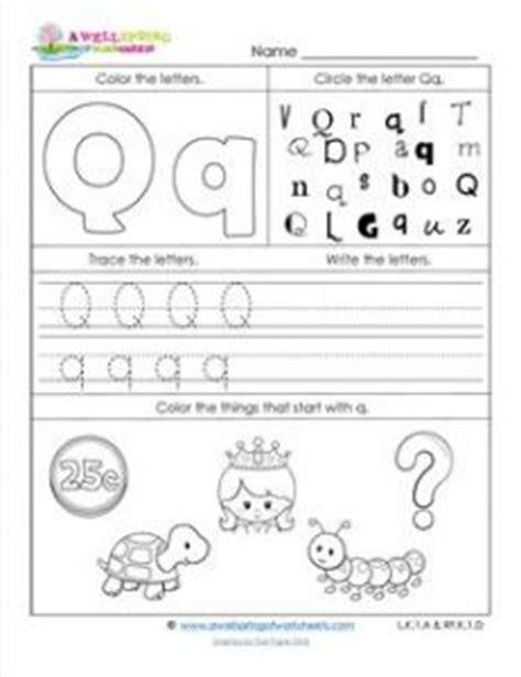 abc worksheets letter  alphabet worksheets  wellspring