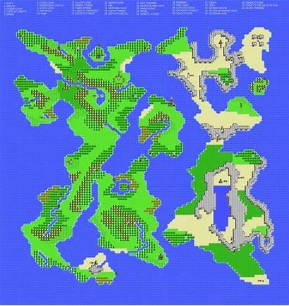 Nes Ghost Lion Map Thanks Legend Rpgclassics