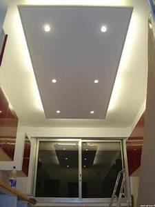 Eclairage Plafond Cuisine : plafond avec clairage cuisine et salle de bain plafond ~ Edinachiropracticcenter.com Idées de Décoration