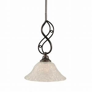 Filament design concord light black copper pendant cli