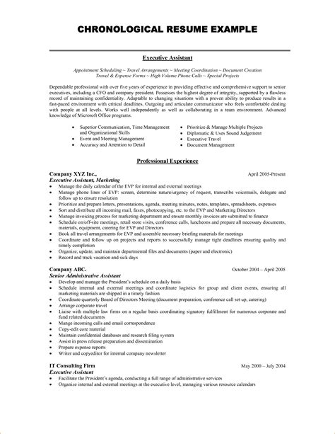 exles of resumes resume format hr templates sle
