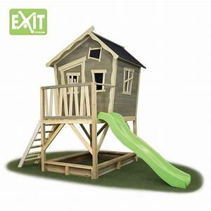 Kinder Haus Garten : kinder spielhaus exit crooky 500 kinderspielhaus holz ~ Articles-book.com Haus und Dekorationen