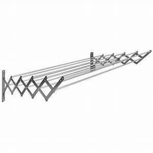 Etendoir A Linge Extensible : s choir extensible 18 10 acier inoxydable 80 cm 10 baleines en aluminium tendoir linge ~ Carolinahurricanesstore.com Idées de Décoration