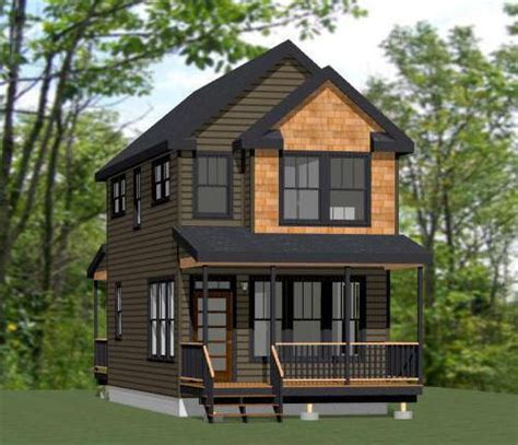 Small Two Story Cabin Plans by Two Story Tiny House Plan Tiny House Cabins Montana