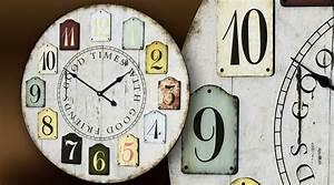 dco murale cuisine les decoratives tendance cuisine de With salle de bain design avec horloges murales décoratives