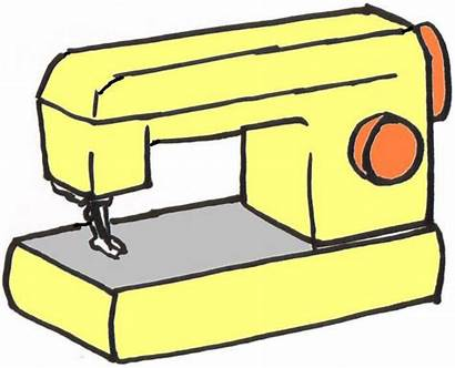 Sewing Clip Clipart Machine Machines Quilting Embroidery