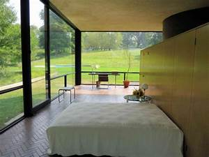 The Glass House - bedroom and desk - Picture of The Philip ...