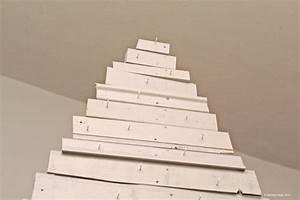 Lichterkette Weihnachtsbaum Anbringen : weihnachtsdeko tipp no 4 weihnachtsbaum aus alten holzlatten passion for stylepassion for style ~ Markanthonyermac.com Haus und Dekorationen
