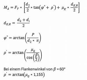 Torsion Berechnen : schraubenverbindung bei verschiedenen belastungsf lle mit berechnungsprogramm ~ Themetempest.com Abrechnung