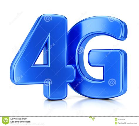 4G Icon Stock Images - Image: 37659034