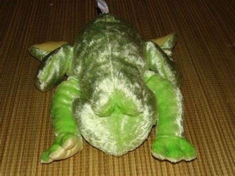 baby gund chubbles frog green plush stuffed animal toy