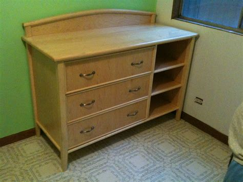 projects changing tabledresser  baby bed