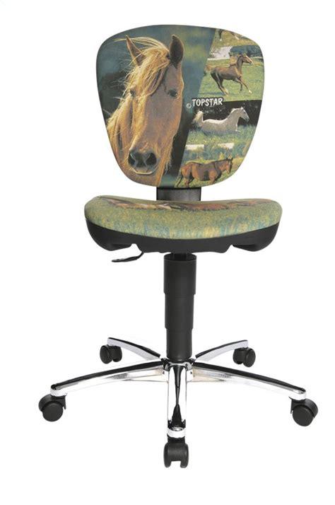 chaise de bureau pour enfant topstar chaise de bureau pour enfants kiddi horses
