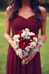 fall wedding colors with lush details modwedding With fall wedding colors bridesmaid dresses