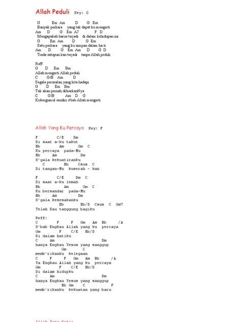 not angka bapa yang kekal lagu rohani chord pdf